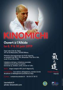 Stage de Kinomichi à Pentecôte - Nîmes juin 2019 @ Judo club du Gard